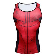 DEADPOOL Compression Tank Top