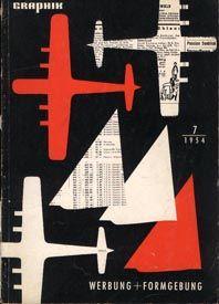 Graphik: Werbung + Formgebung advertising and industrial design 1954