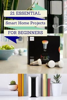 Looking to make your home a little smarter? Smart home projects range from basic to extremely advanced. If you're just looking to get started with some home automation technology, these smart home project ideas will keep you busy if you're a beginner. Gadgets For Dad, Home Gadgets, Cooking Gadgets, Music Gadgets, Cooking Tools, Fun Gadgets, Home Automation System, Smart Home Automation, Smart Home Security
