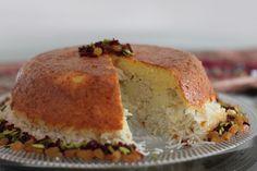 Tah-Chin ~ Persian Upside Down Layered Saffron Rice & Chicken