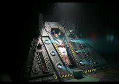 Spaceship interior set  #sciencefiction #spaceship #set #design Spaceship Interior, Set Design, Science Fiction, Concept Art, Pictures, Stage Design, Sci Fi, Conceptual Art, Photos