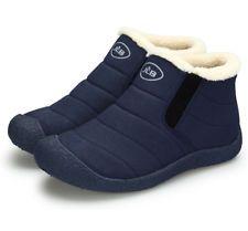 Scarponi da neve sneaker da donna invernali stivaletti alla caviglia  antiscivolo impermeabili in pelliccia calda Scarpe c063f66e79e