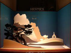 Vitrine Hermes - septembre 2009 by JournalDesVitrines.com, via Flickr