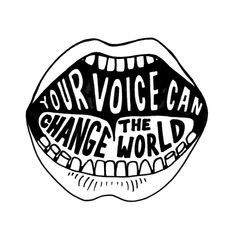 """Your voice can change the world"" Day 59 Earth 3, Save Planet Earth, Save Our Earth, Save The Planet, Power To The People, Doodle Lettering, Environmental Art, Quote Of The Day, Change The World Quotes"