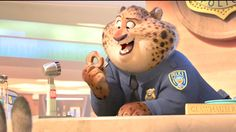 ClawHauser loves donuts.