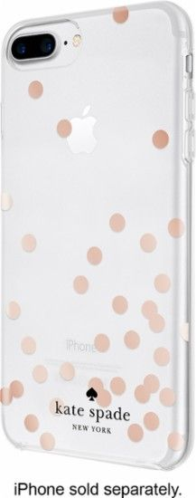 kate spade new york - Protective Hardshell Case for Apple® iPhone® 7 Plus  -. Gold FoilRose ...