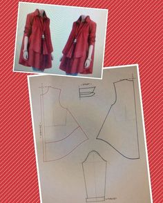 27 Likes 1 Comments Dress Sewing Patterns, Blouse Patterns, Clothing Patterns, Fashion Sewing, Diy Fashion, Sewing Clothes, Diy Clothes, Fashion Pattern, Fashion Vocabulary
