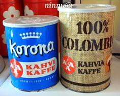 Coffee Tin, Good Old Times, Old Ads, Nostalgia, Old Things, Retro, Tins, Emoji, Vintage