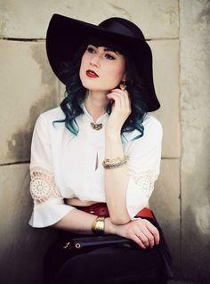 Mode Blog, Fashion Blog, Like A Riot, Gypsy, gypsy fashion, Boho, Boho Style, Folklore, green hair