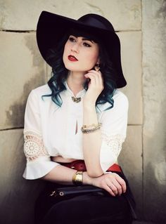 Mode Blog, Fashion Blog, Like A Riot, Gypsy, gypsy fashion, Boho, Boho Style, Folklore, green hair
