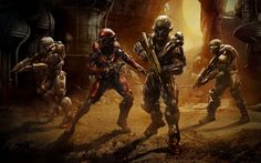Halo 5 Guardians Team Locke - FullyCoolPix