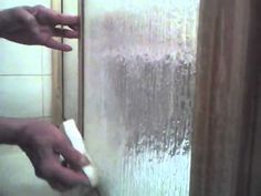 How To Clean Rubber Seal Around Shower Doors Stains
