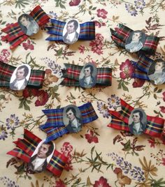 DIY Party Badges Burns Night Party Ideas, Burns Night Crafts, Robbie Burns Night, Scottish Wedding Themes, Scottish Festival, Outlander Gifts, Burns Supper, Party Centerpieces, Centerpiece Ideas