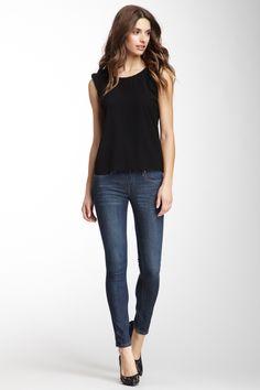 Denim Spray On Skinny Jean