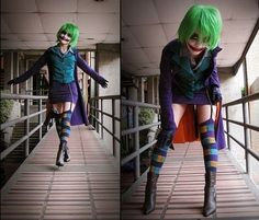 the joker female costume - Google Search