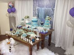 Brasilianscher Kindergeburtstag - Thema FROZEN - brazilian birthday party for kids with the theme FROZEN (Walt Disney)