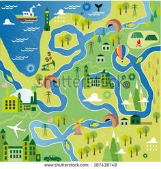 Set Of City Infographics In A Flat Style Stock Vector 180692666 : Shutterstock