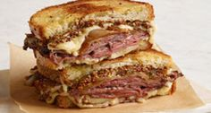 Grilled Cheese That's Part French Onion Soup, Part Roast Beef Sandwich
