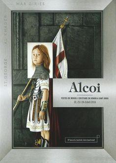 Cartel de fiestas de Alcoy 2016 Autor :José Miguel Piñero y Antonio Piñero