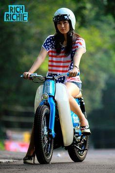 Modifikasi iCub - Honda Street Cub 70                 the bike's nice to ?????????????