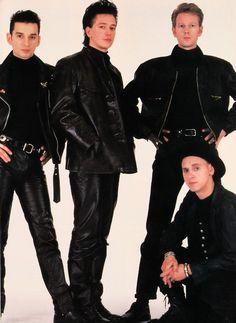 Depeche Mode being an 80s boy band.