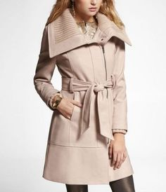 it's winter coat time. Express has the nicest coats for a somewhat reasonable price