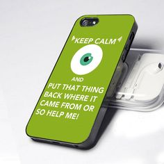 monster inc quote iphone 4 case OMG if i had a iphone i would so get this
