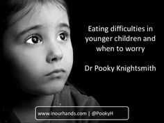 A short presentation for information or training which explores the common eating difficulties seen in younger children along with guidance as to when we shoul…