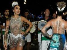 Sensualidade demais? Dani Bolina samba até a fantasia rasgar (Amauri Nehn/Brazil News)