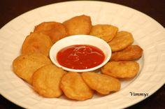 Potato Bajji (Aloo Bajji) (Indian Recipe)