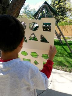 This shape scavenger hunt is a great way to learn and practice 2D Shapes.