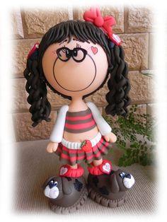 love this little fun foam girl's shoes...so cute!