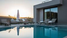 Big group vacation villa with swimming pool near Chania and very close to the sea. Surrounded by nature and landscape views you will feel comfortable like home.