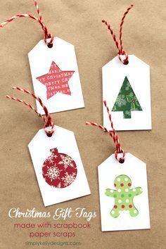 Gifts Tags Diy Christmas 52 New Ideas Diy Christmas Tags, Christmas Gift Wrapping, Christmas Projects, Handmade Christmas, Holiday Gift Tags, Christmas Tag Templates, Christmas Present Tags, Christmas Gifts To Make, Christmas Holiday