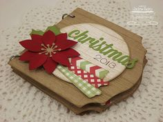 The Scalloped Edge: Christmas 2013 - Countdown to Christmas This would be a cute mini albumn to capture each day from Dec 1st to Dec 25th