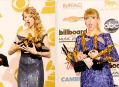 2010/2013 She is amazing and deserves every single on of them !!! <3 U Taylor