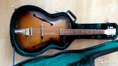 Джазовая гитара Defil Jazz 1969 + кейс— фотография №4