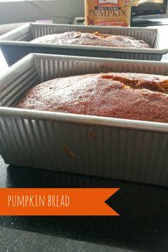 pumpkin bread! so easy and so good.