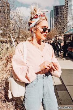 65 women fashion to look cool and fashionable 6 ~ Litledress - Women Outfits Fall Fashion Outfits, Casual Fall Outfits, Pink Fashion, 90s Fashion, Spring Outfits, Autumn Fashion, Cute Outfits, Womens Fashion, Fashion Trends