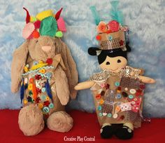 Lovely ideas for kid-made toys clothes
