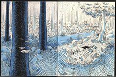 Drawbridge Sketchbook art by Nathan Schreiber