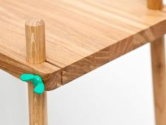 adjustable tabletops that are held to their legs via butterfly screws
