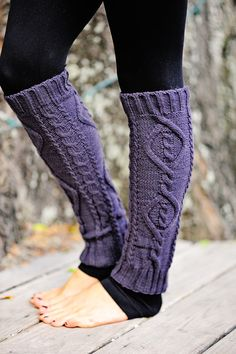 Nice And Cozy Leg Warmers: Charcoal #shophopes