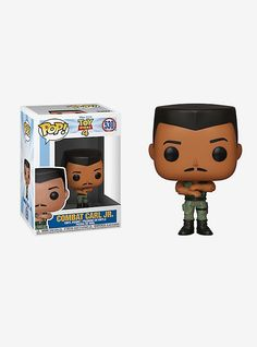 You might remember Combat Carl who was blown up by Sid in DisneyPixar's Toy Story. Allow us to introduce you to Combat Carl Jr. from Toy Story Now he's a fun and funky collectible vinyl figure by Funko! Disney Pop, Disney Pixar, Best Disney Movies, Pop Vinyl Figures, Funko Pop Figures, Funko Pop Toy Story, Disney Aladdin Genie, Batman Room, Carl's Jr
