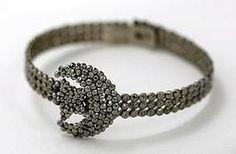 bracelet - vintage cut steel