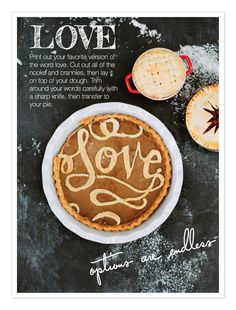 Most beautiful pie topper ever. And not nearly as hard as you might think.