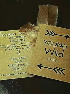 Indian party invitation