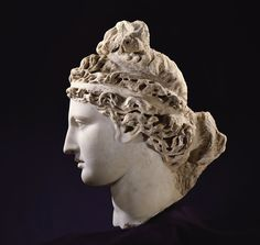Head of Venus. Toledo Museum of Art. Ancient Rome, Ancient Art, Ancient Greek, Art Romain, Roman Artifacts, Toledo Museum Of Art, Field Museum, Greek And Roman Mythology, Art Premier