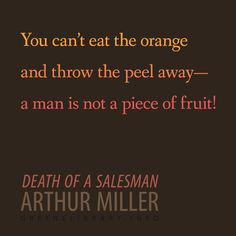 Death Of A Salesman Quotes Interesting Death Of A Salesman Arthur Millerrecite  Create Beautiful