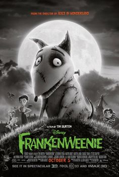 Frankenweenie (8/10) - So I like Tim Burton and his work, hence such a high rating. Honestly though, the parallels between this story and classic horror stories are fantastic, and yet he's put a cute not critically dangerous story together that is completely original all at the same time. It's clever, interesting especially in black and white, and the voice acting is amazing. I thoroughly enjoyed this.